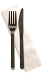 Forum Ebony Fork Knife Napkin