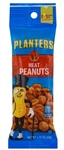 Planters Snack Nuts Tube Honey Roast Peanuts - 1.75 Oz.