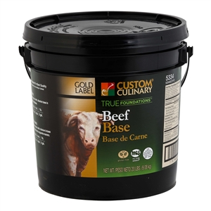 Beef Base No MSG Added Gluten Free Clean Label - 20 Lb.