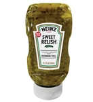 Heinz Relish Pickles and Vinegar Sweet Relish Easy Squeeze - 12.7 Oz.