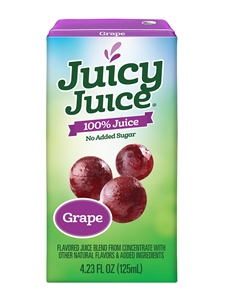 Juicy Juice Grape Single Serve - 4.23 Fl. Oz.