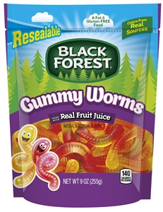 Black Forest Gummy Worms - 9 oz.