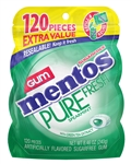 Mentos Gum Pouch Pure Fresh Spearmint