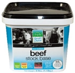 Beef Stock Base Low Sodium Major Chefs Smart Choice No Added MSG - 2.5 Lb.