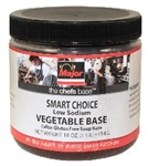 Vegetable Stock Base Low Sodium Major Chefs Smart Choice No Added MSG and HVP