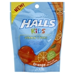 Halls Kids Lollipop Orange