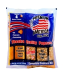 Popcorn Kit Portion Pack Coconut - 254 Oz.