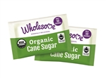 Wholesome Sweeteners WS Fair Trade Organic Cane Sugar Packets