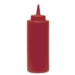 Red Squeeze Bottle - 12 Oz.