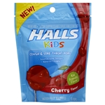 Halls Kids Lollipop Cherry