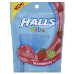 Halls Kids Lollipop Strawberry