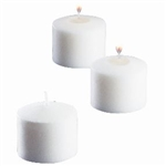 Votive Candle 10 Hour Wax White