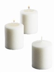 Votive Candle 15 Hour Wax White