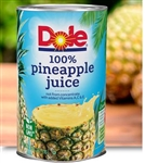 Canned 100 Percentage Pineapple Juice - 46 Oz.