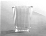 Tall Clear Fluted Polystyrene Classicware Tumbler - 8 Oz.