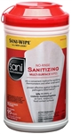 Sanitizing Extra Large Canister No Rinse Wipes