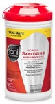 Sanitizing Extra Large Canister No Rinse Multi-Surface Wipes