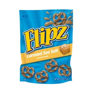 Flipz Caramel Sea Salt Pouch - 7.5 oz.