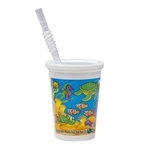 Ocean Thermo Kids Cup with Disposable Lid - 12 Oz.
