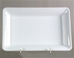 Polystyrene Rectangle Serving Tray White - 14 in. x 10 in.
