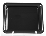 Polystyrene Rectangle Serving Tray Black - 18 in. x 12 in.