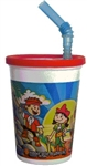 Cup Pirate Kids, Lid and Straw Thermoform - 12 Oz.