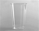 Polystyrene Smoothwall Tall Tumbler Clear - 10 Oz.