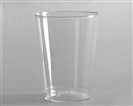 Polystyrene Smoothwall Tall Tumbler Clear - 12 Oz.