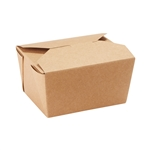Dixie Products Brand Take Out Container Brown - 26 Oz.