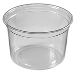 Round Deli Clear Container - 16 oz.