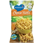 Barbaras Bakery Jalapeno Cheese Puffs - 7 oz.