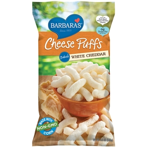 Baked Cheese Puffs White Cheddar - 5.5 Oz.