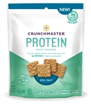 Crunchmaster Protein Sea Salt Snack Crackers - 3.54 oz.