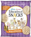 Educational Snacks Fun and Fitness - 1 oz.