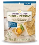 Crunchmaster Tuscan Peasant Simply Olive Oil and Sea Salt Crackers - 3.54 Oz.