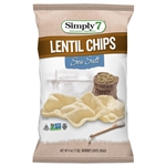Lentil Chips Sea Salt - 4 Oz.