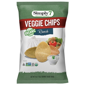 Veggie Chips Organic Ranch - 4 Oz.