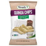 Quinoa Sour Cream and Onion Chips - 3.5 Oz.