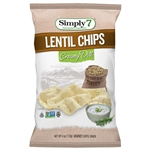 Lentil Creamy Dill Chips - 4 Oz.
