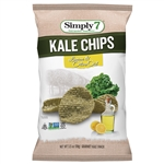 Kale Lemon and Olive Oil Chips - 3.5 Oz.