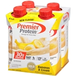 Premier Protein Protein Bananas And Cream Shake - 11 fl. Oz.