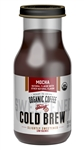 Steep 18 Organic Slightly Sweetened Mocha Cold Brew Coffee - 9.5 Oz.