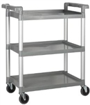 Plastic Utility Cart - 32 in. x 16.125 in.