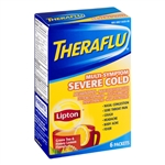 Theraflu Multi-Symptom Severe Cold With Lipton