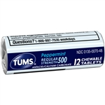 Tums Regular Peppermint
