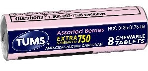 Tums Extra Assorted Berries