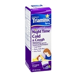 Triaminic Night Time Cold and Cough Syrup - 118 ml.