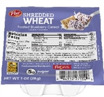Post Blueberry Shredded Wheat - 1 Oz.
