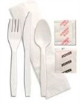 Forum 1 Ply Napkin Fork Knife Teaspoon Salt Pepper