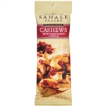 Sahale Pomegranate Vanilla Cashews Foodservice Glazed Mix - 1.5 Oz.